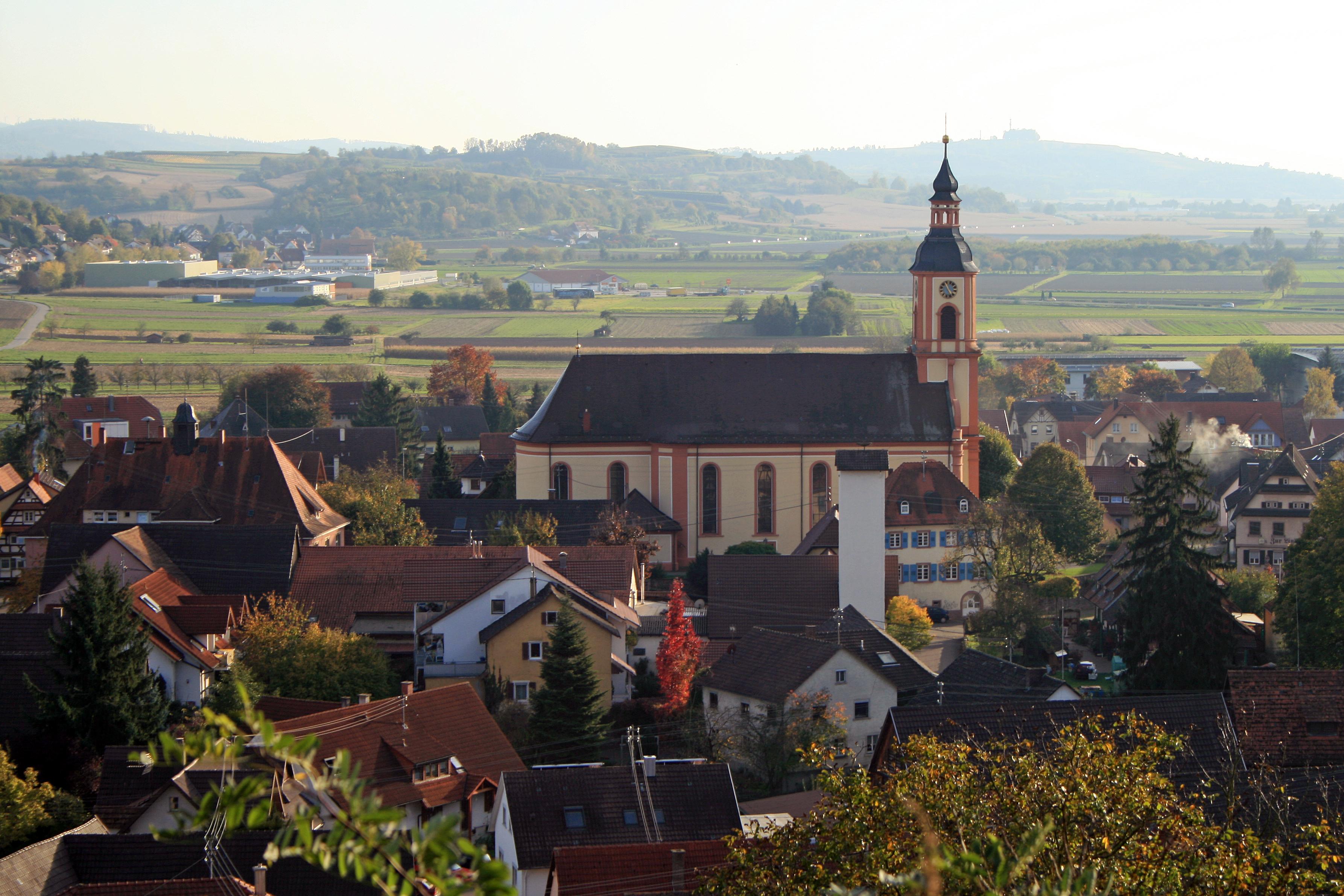 St. Brigitta in Niederschopfheim